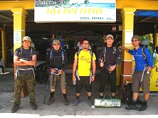 Another batch of climbers who successfully scaled Mount Arong