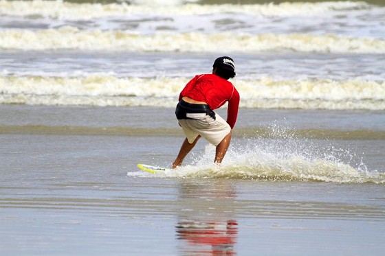 I came, I saw, I skim-boarded - at Malaysia Sea Sports