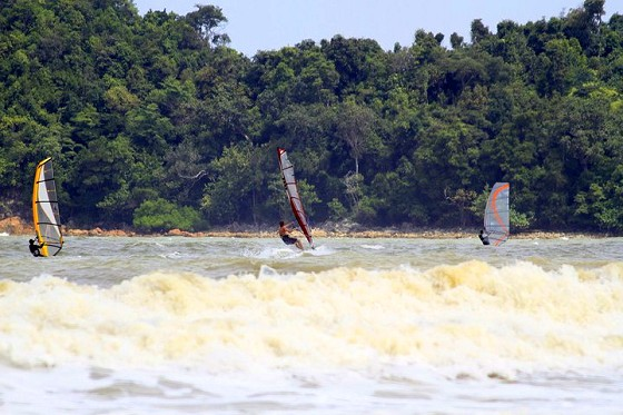 Malaysia Sea Sports is windsurfing paradise