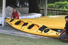 We have plenty of kayaks available