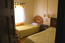 Our accommodations are simple, comfy and clean