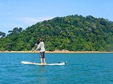 Stand Up Paddling (SUP) in Tanjung Resang