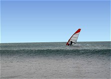 Windsurfing into the wild blue yonder